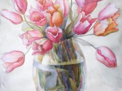 Букет-тюльпанів,55х75,п
