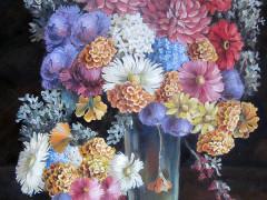 Квіти,70Х55,п.олія,2011