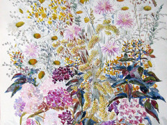 Літні квіти,54Х75,п.акварель,2010