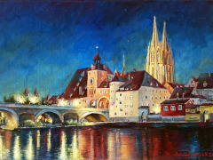 Oel_Rgbg-Nacht_30x25cm