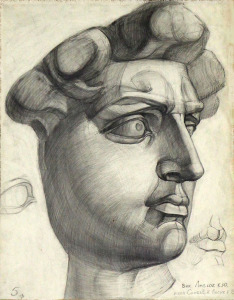Zeichnung_Michelangelo_David_60x80cm