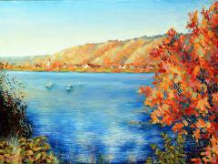 oel_Donau_im_Herbst35x25cm