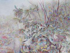 Tropische-Sonate_Aquarell_75x56cm_2017