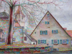 bayrische-Architektur_Aquarell_35x55cm_2017